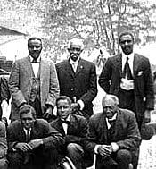 James Lewis, an African-American Civil War veteran from Waterford Virginia
